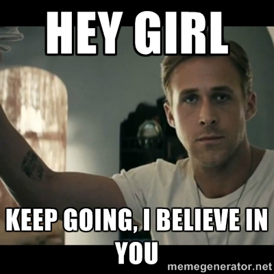 Hey Girl via LemonandLunges