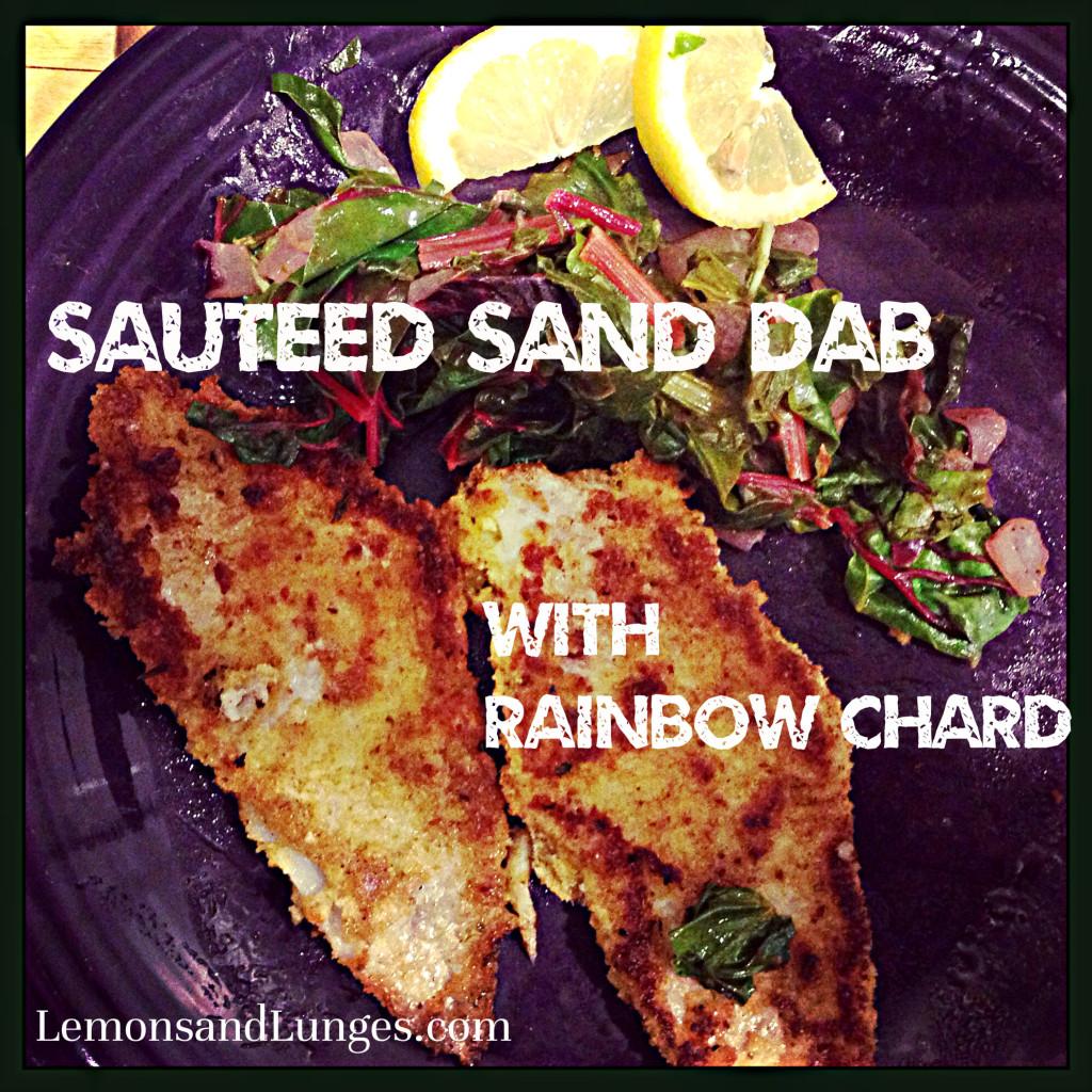 Sauteed Sand Dab via LemonsandLunges