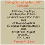 (Not) Easy Like Sunday Morning Workout
