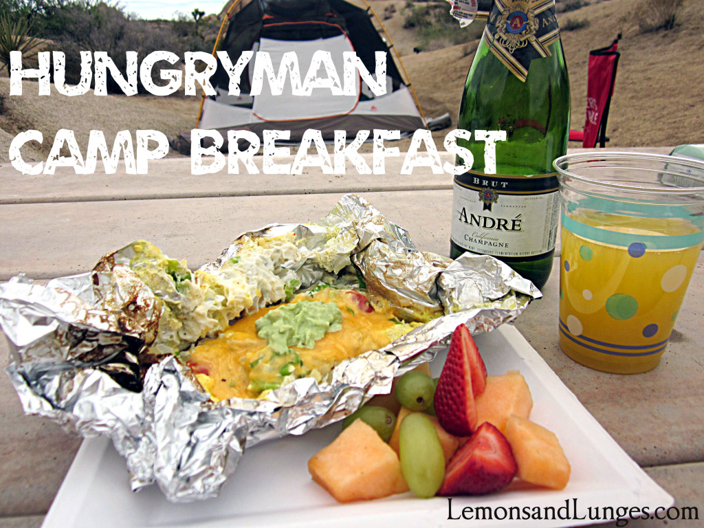 Camping Breakfast via LemonsandLunges