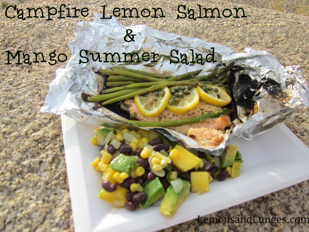 Camping Salmon via LemonsandLunges