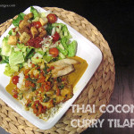 Dinnspiration: Thai Coconut Red Curry Tilapia