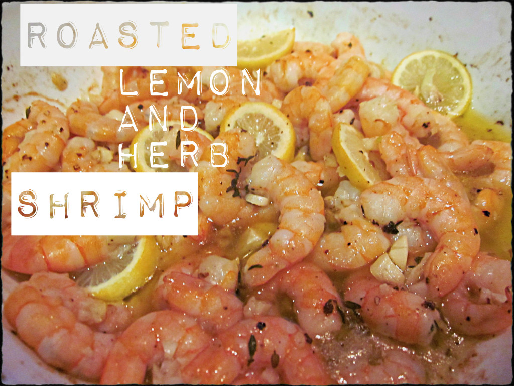 Lemon and Herb Shrimp via LemonsandLunges