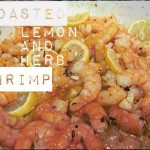 Roasted Lemon and Herb Shrimp