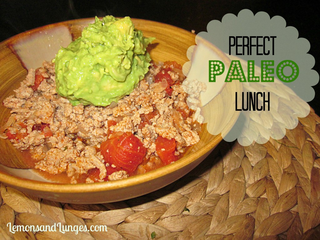 Paleo Lunch l Lemons&Lunges F