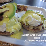Bacon And Crab Bennies with Easy Jalapeno Hollindaise