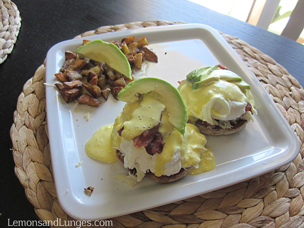 Eggs Benny with Jalapeno Hollindaise