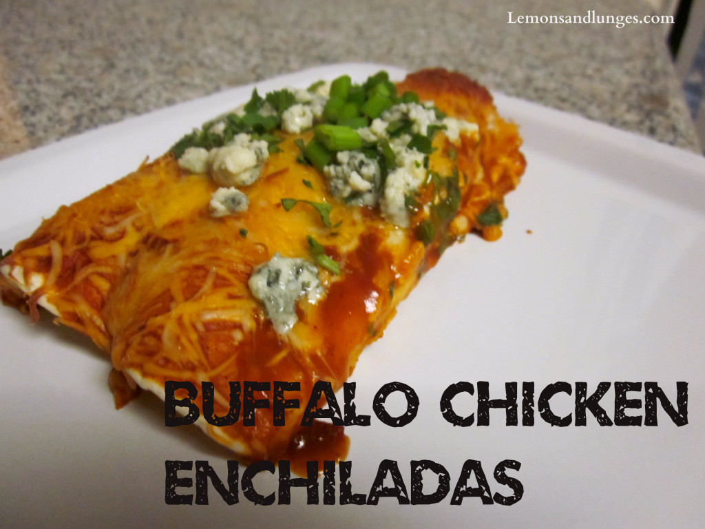 Buffalo Chicken Enchilada