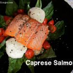 Caprese Salmon with Burrata